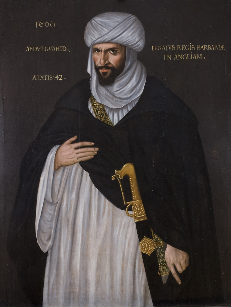 The moorish Ambassador to Elizabeth I, Abd el-Ouahed ben Messaoud, 1600
