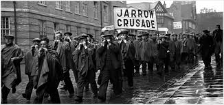 Photography of the Jarrow marchers, 1936