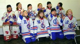 Bowview Novice A White Ice Crushers - Gold at Lethbridge