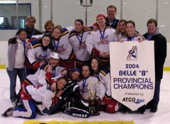 """South View """"Outlaws"""" - 2004 Provincial Champions"""