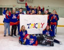 Junior B Tricky - Gold in Brooks Tournament