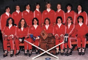 1981-1982 Belle Rep Team