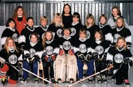NW NOVICE B THUNDERBOLTS Back Row: Jodi Viste (coach), Wendy Chan (asst coach), Brenda Wooden (asst coach) Middle Row: Stacy Johnson, Alana Redding, Julie Walls, Kelly Swedburg, Kelly Perrault, Erin Glowa, Jamie Perry, Jacqui Moore Front Row: Megan Lamb, Danielle Antonello, Melanie Smith, Gina Bussoli, Amie Barnes, Kimberly Patterson, Lauren Redgate Missing: Matt Walls (coach)