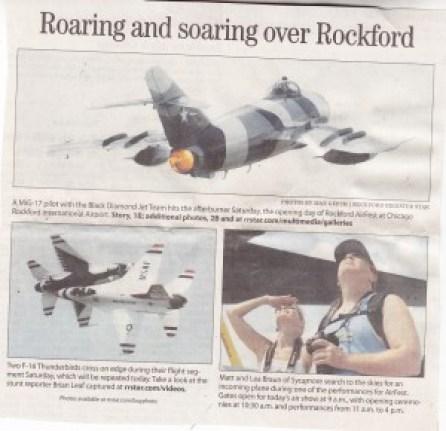 Rockford AirFest Roaring
