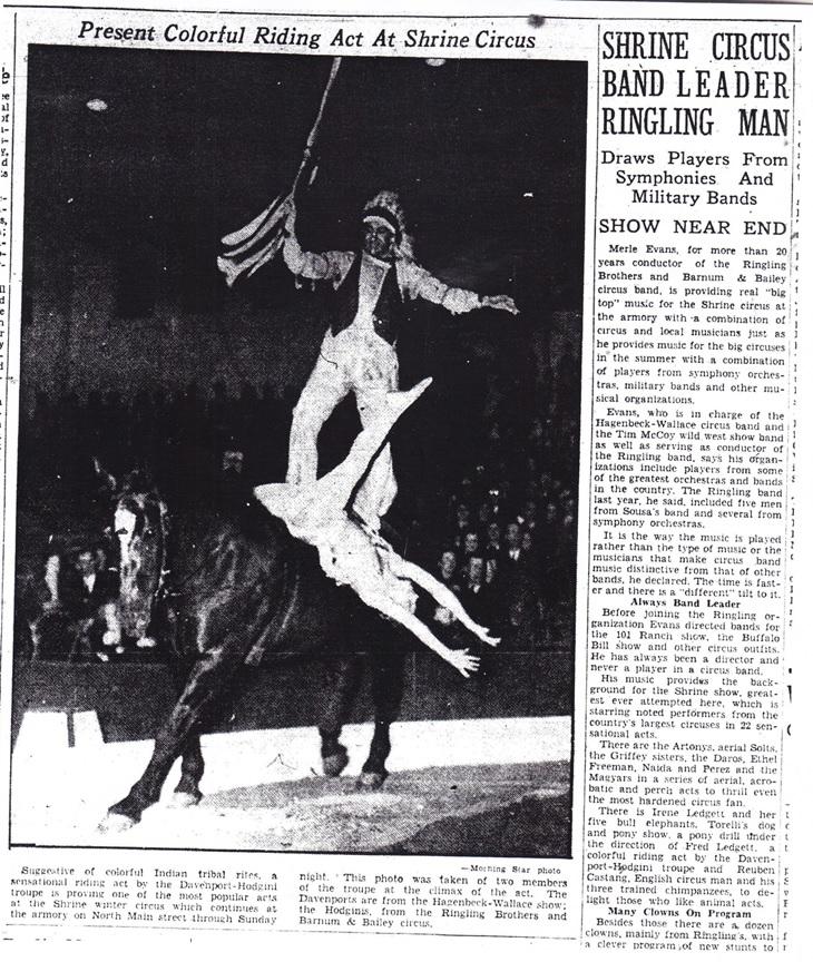 Ringling Bros 1938