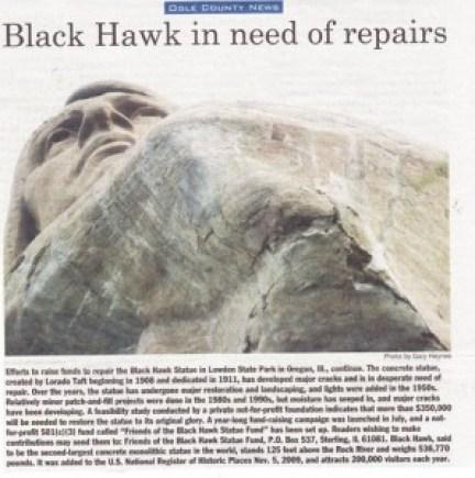 black hawk repairs