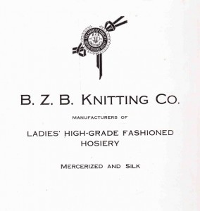 B-Z-B Knitting ad