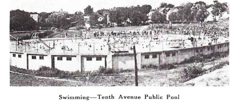 Tenth Avenue Public Pool Rpl 39 S Local History
