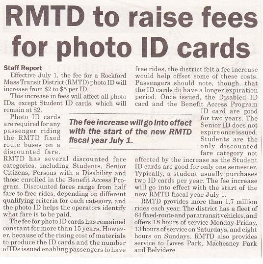 RMTD fees