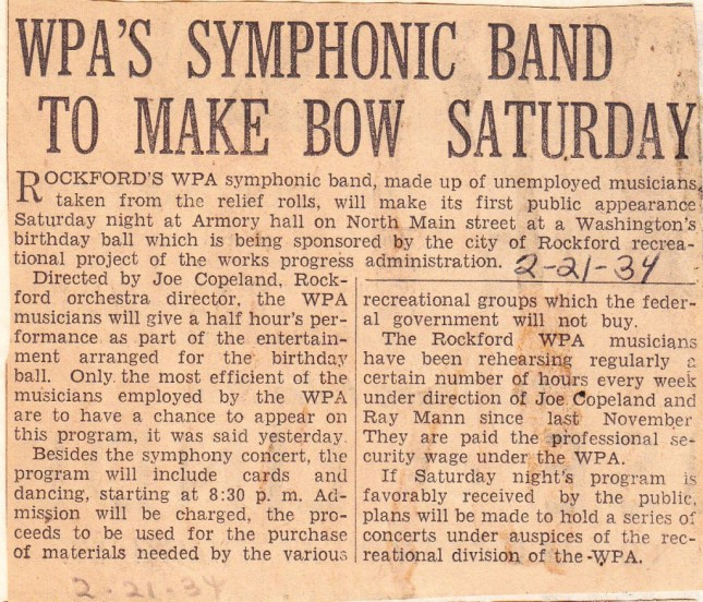 WPA's Rockford Symphonic