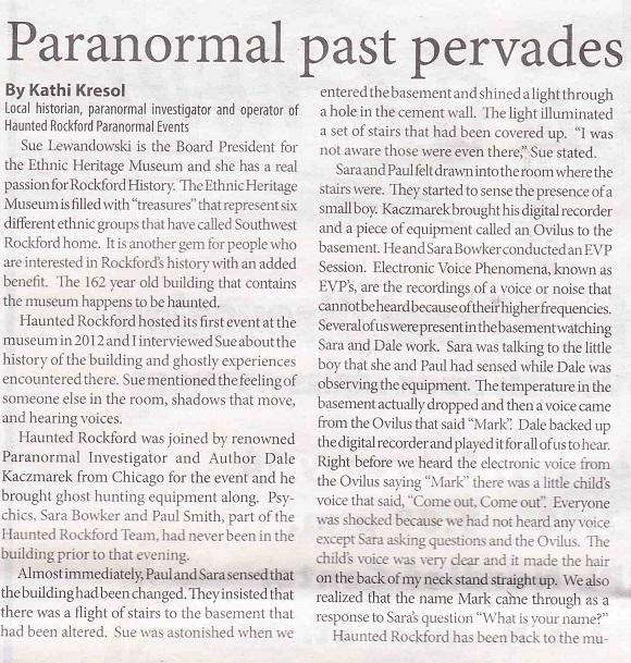 Ethnic Paranormal 1