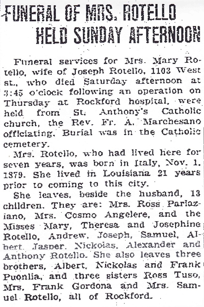 Funeral of Mrs. Rotello_0001