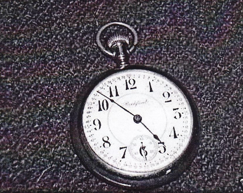 e5c92220602d7 Rockford Watch Co. – Gold Pocket Watch Sz 18 – RPL's Local History