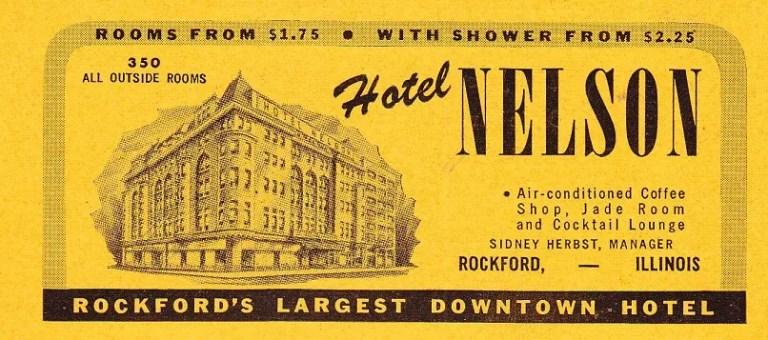 Hotel Nelsom CD 1945