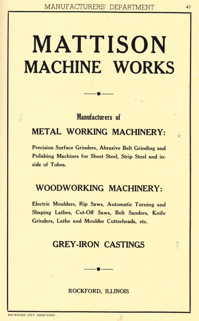 Mattison Machine Works