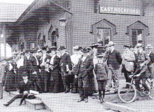 East Rockford Railway Station