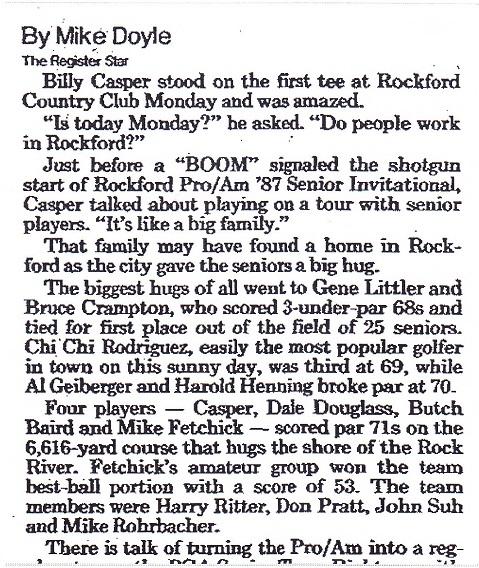 Rockford Pro-Am '87 Senior