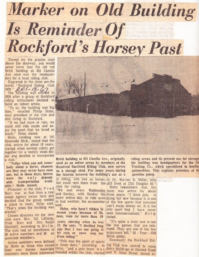 Rockford Riding Club - 1