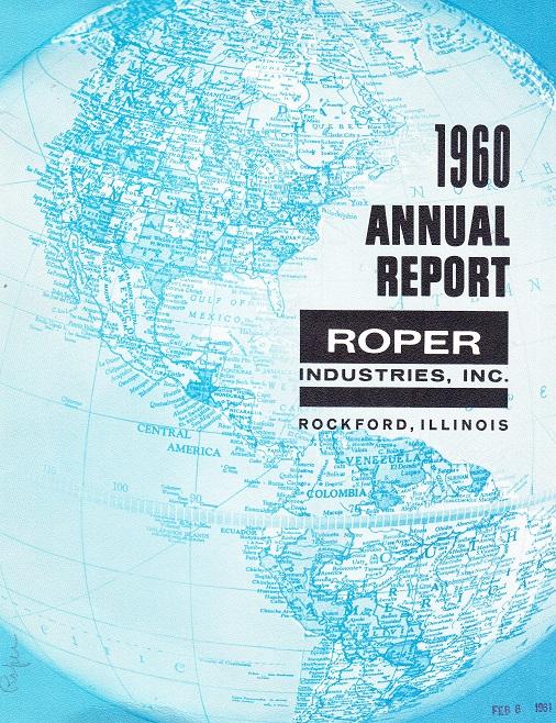 Roper 1960 Annual