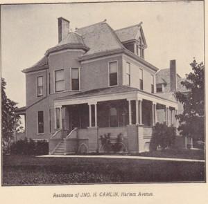 1526 Harlem Boulevard in 1902