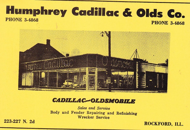 Humphrey Cadillac 1956