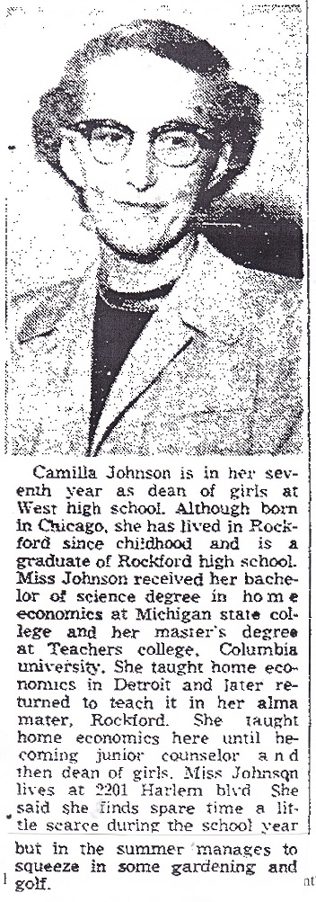 Johnson, Camilla