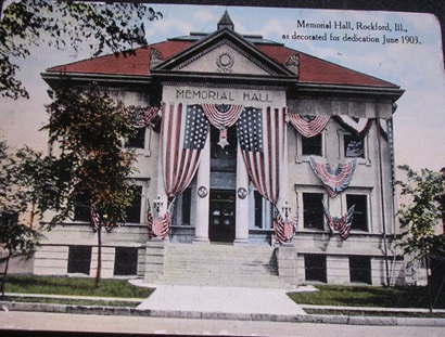 Memorial Hall post card