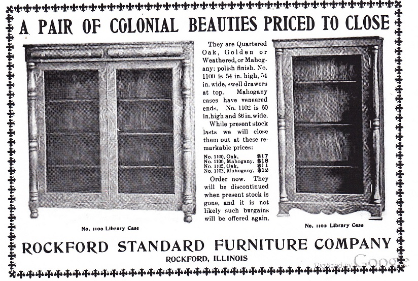 rockford standard furniture co rpl s local history
