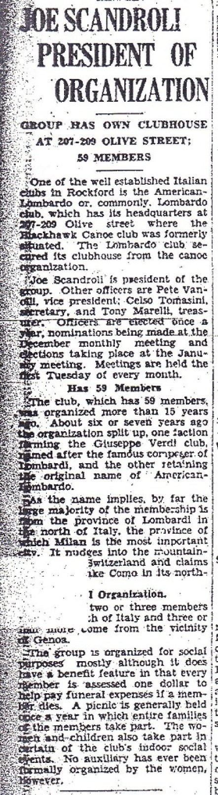 Lombardi Club 1929