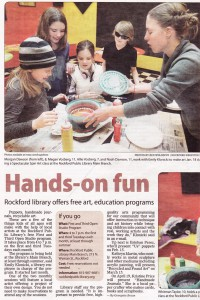 Rockford Public Library Art and Education Programs, 2011