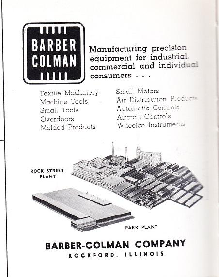 Barber-Colman 1960