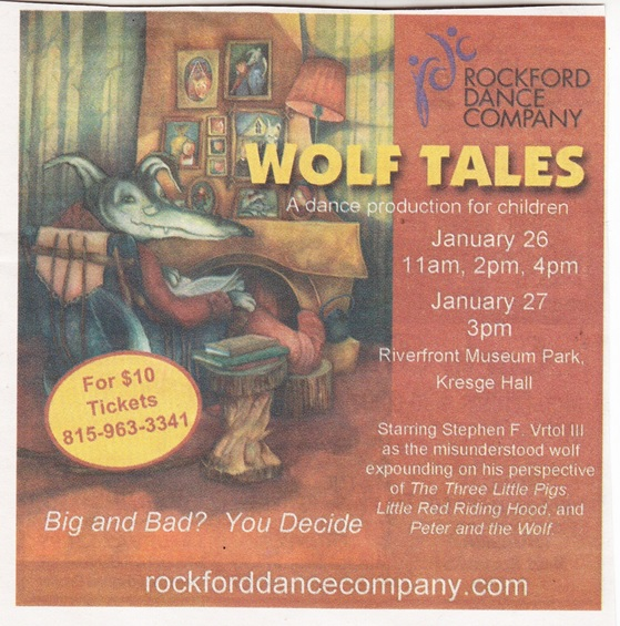 Rockford Dance Co. Wolf Tales