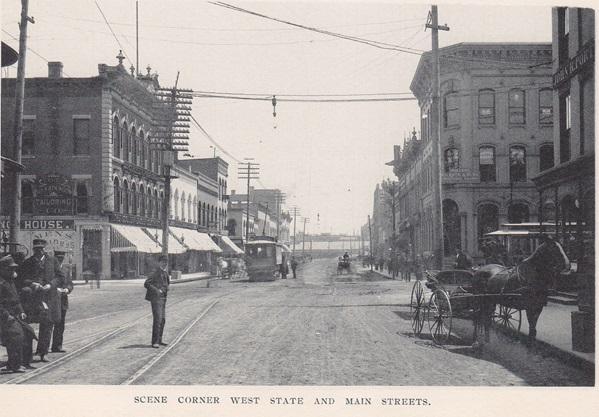 Corner West State