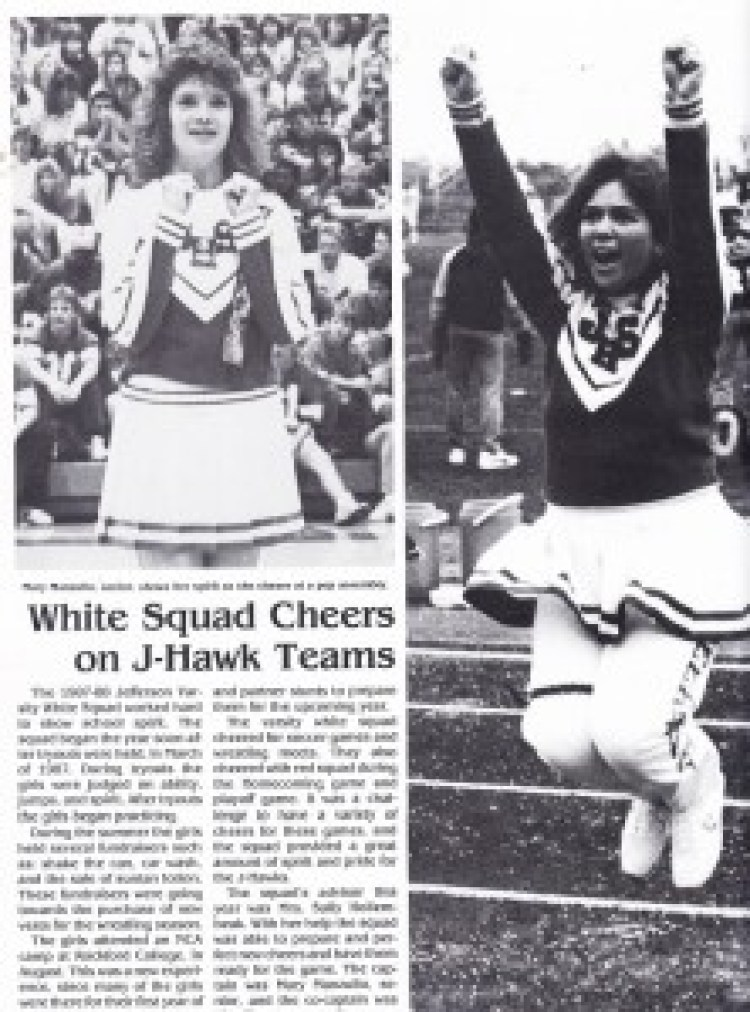 Jefferson H S 1988 Cheer