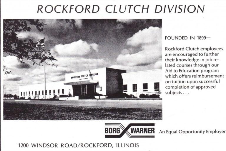 Rockford Clutch 1971