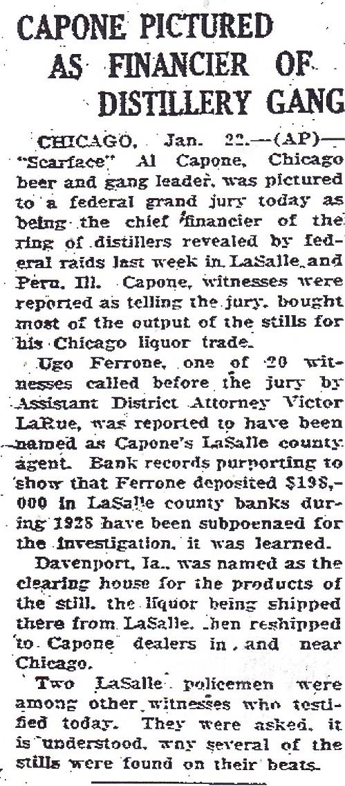 Capone Pictured