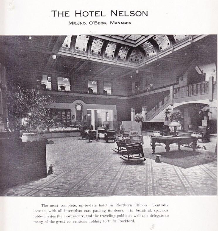 Hotel Nelson Lobby