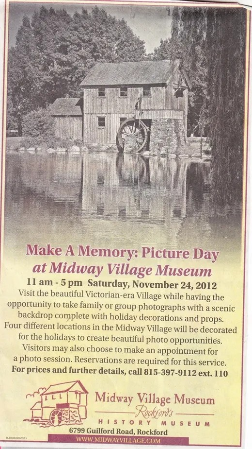 Midway Village Picture Day