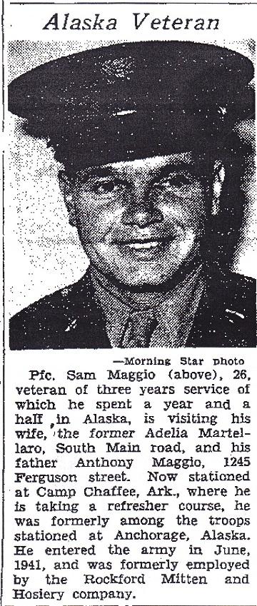 Pfc. Sam Maggio