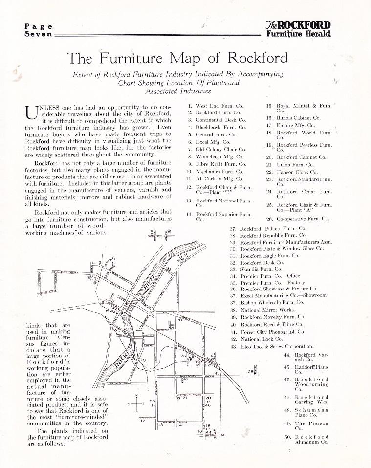 Furniture Map