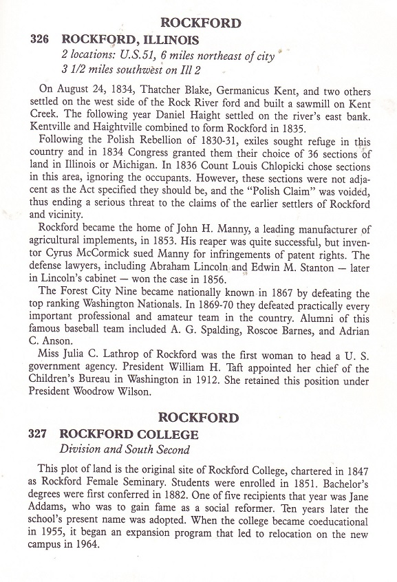Illinois Historical Markers
