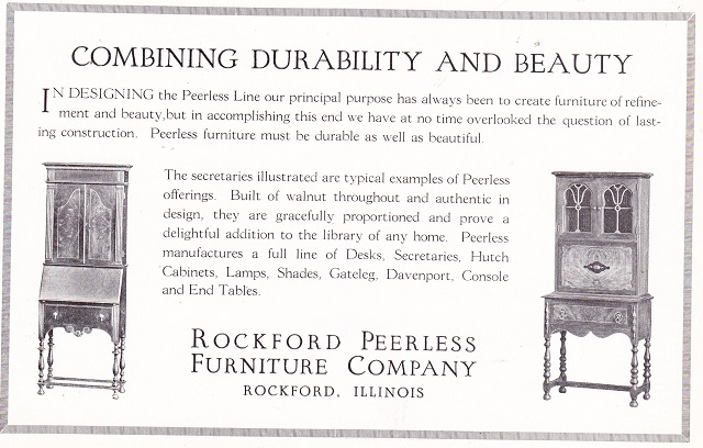 Rockford Peerless   Apr