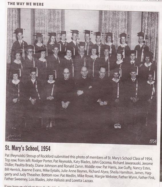 St. Mary Roman Catholic School 1954