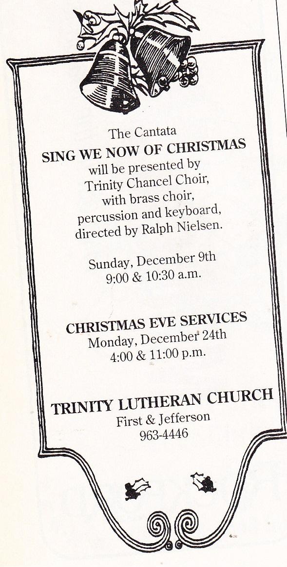 Trinity Luth ad sm