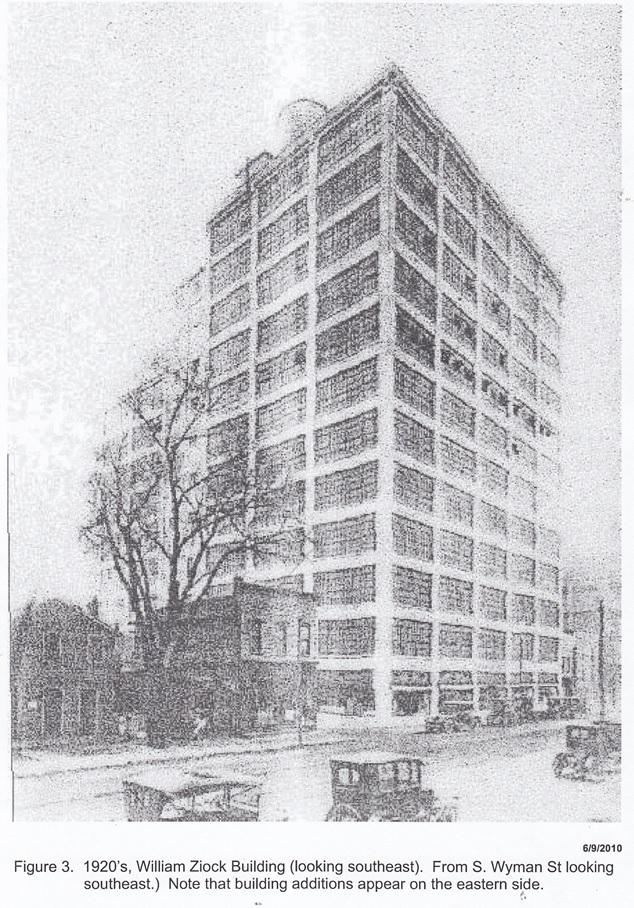 William Ziock Building 1920's