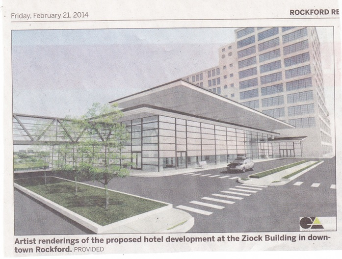 William Ziock Building artist rendering