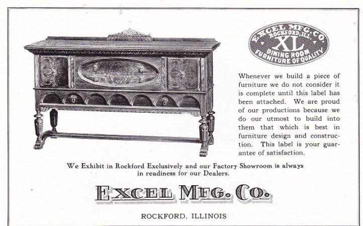 Excel Mfg. Co. Apr. 1925