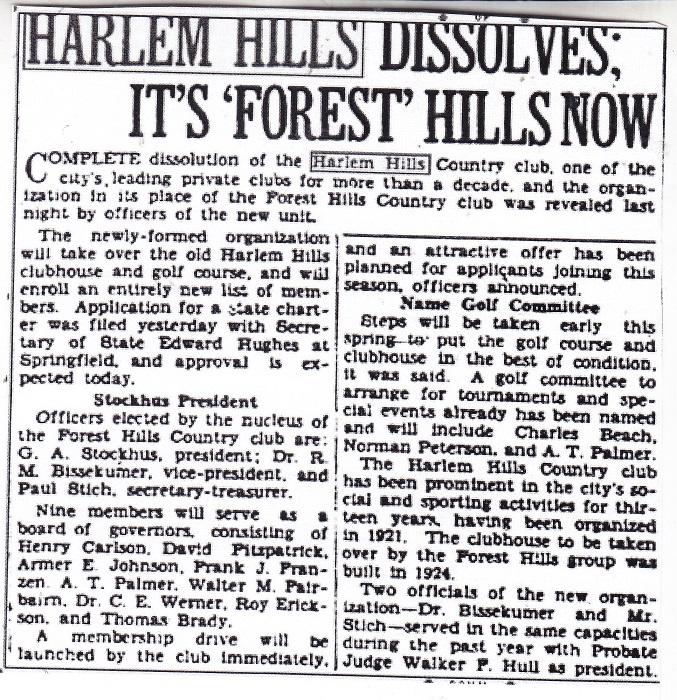 Harlem Hills C C 2