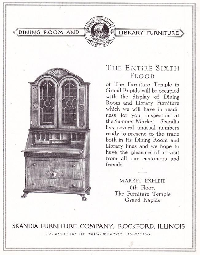 Skandia Furniture Co. June 1925