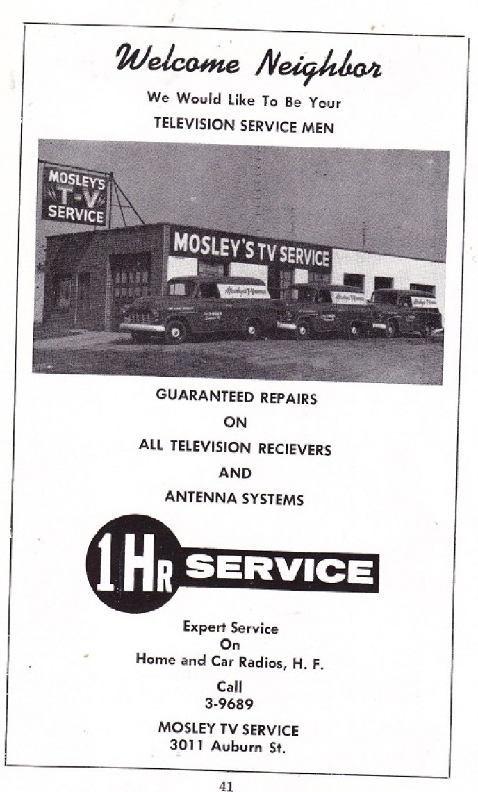 Mosley's TV